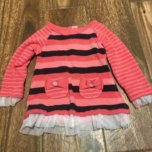 Little Lass 12 mo Pullover Sweater